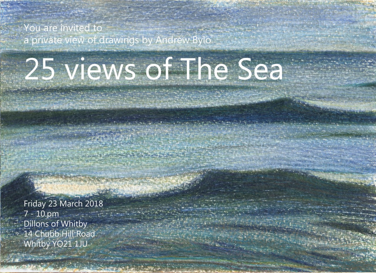 Exhibition: 25 views of The Sea